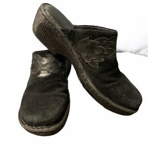 Born HandCrafted Footwear Leather Clogs